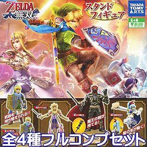Hyrule-Warriors-Staender-Figur-Set-4-The-Legend-of-Zelda-Gashapon-NEU-Japan