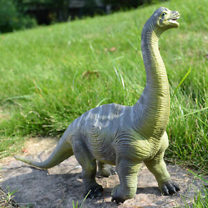 2018 Large Brachiosaurus Dinosaur Toy Realistic Solid Plastic Model GIFT to Kids