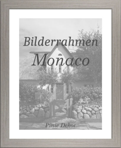 Bilderrahmen Monaco 36x82 cm Foto Poster Puzzle Galerie 82x36 cm