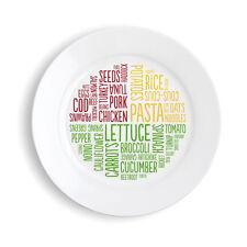 Placa De La Porción Saludable (melamina) - Adelgazar la manera fácil!