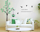 Tree Love Secret WALL STICKERS REMOVABLE HOME DECAL Art Vinyl DECOR