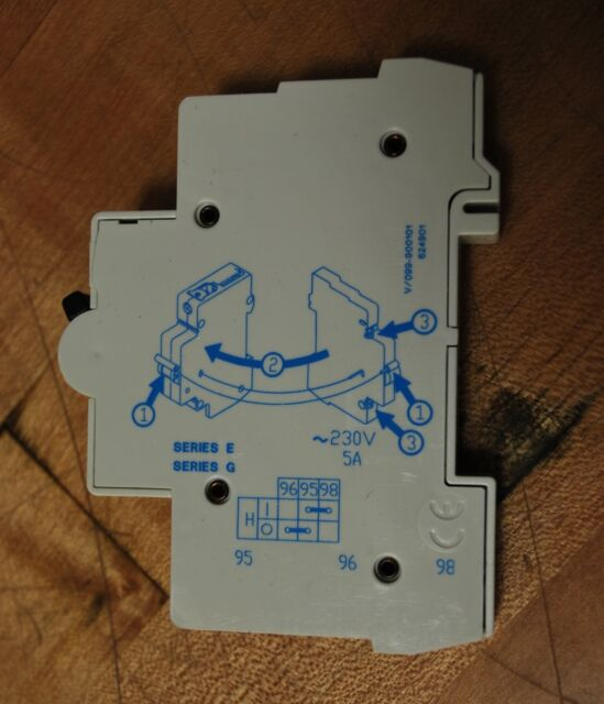 GE AUXILIARY CONTACT BLOCK V//099-900101