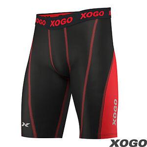 Pantalones-Cortos-De-Compresion-Para-Hombre-Pro-Deportes-Calzoncillos-Piel-ajuste-apretado-Gimnasio