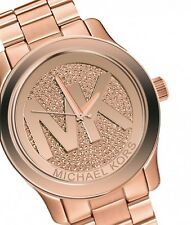 Michael Kors Women's Runway Rose Gold-Tone Watch MK5661