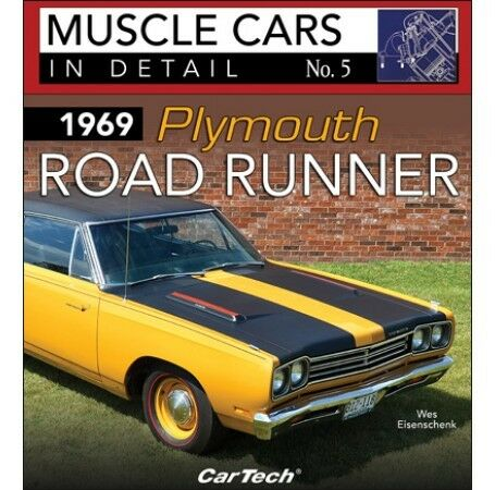 CT580 CarTech 1969 PLYMOUTH ROAD RUNNER 5 MUSCLE CARS IN DETAIL NO