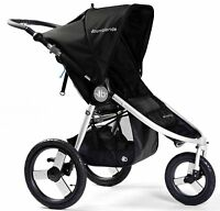 Bumbleride Speed Lightweight Baby Jogger Jogging Stroller Silver Black 2016