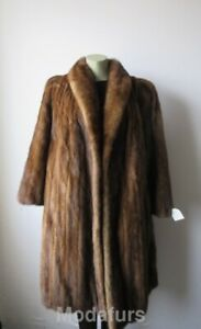 Mink 12 Canadian Sz Coat Large Fur Natural Women's xtIAqdww