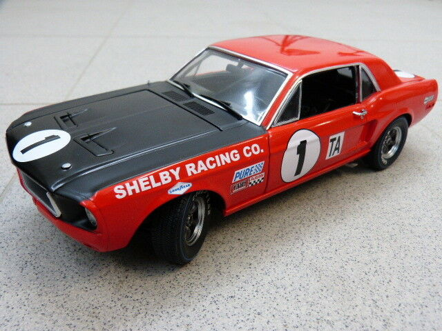 Ford mustang shelby gt350  1 JERRY TITUS DAYTONA 24 H 1968 ACME Voiture Miniature 1 18