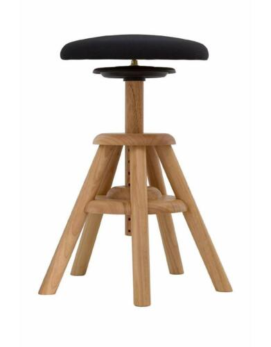 Balimo Wood Holz Natur schwarzer SitzflächeEckart MeynersBewegungsstuhl