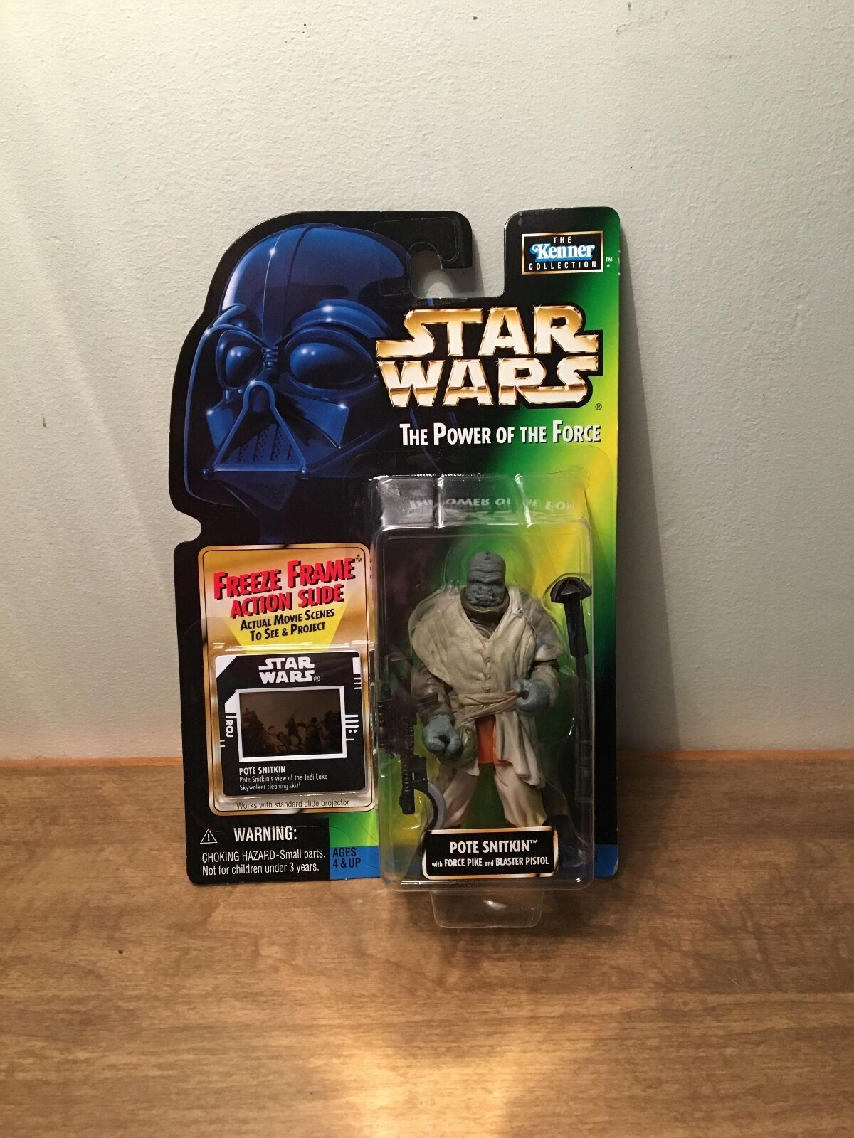 Star Wars Power of the Force  Pote Snitkin with Freeze Frame Action Slide