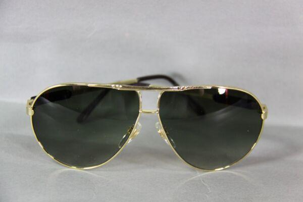 Occhiali Da Sole Pilota Quadro Colori Oro Bicchieri Verde