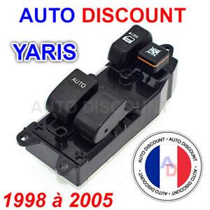 Commande-Interrupteur-Bouton-Leve-Vitre-Toyota-Yaris-1998-2005-Cote-conducteur