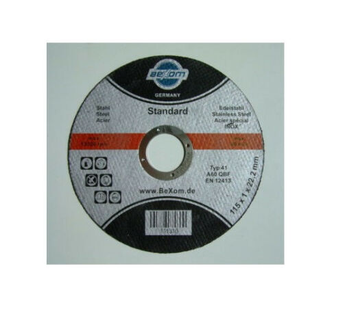 Trennscheiben 115x1 Edelstahl INOX Stahl Metall Trennscheibe 115 x 1 mm