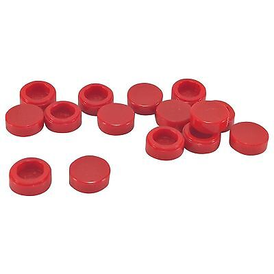 15 NEW LEGO Tile Round 1 x 1 red