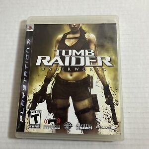 Tomb Raider: Underworld PS3 PlayStation 3 - Complete Video Game Free Shipping