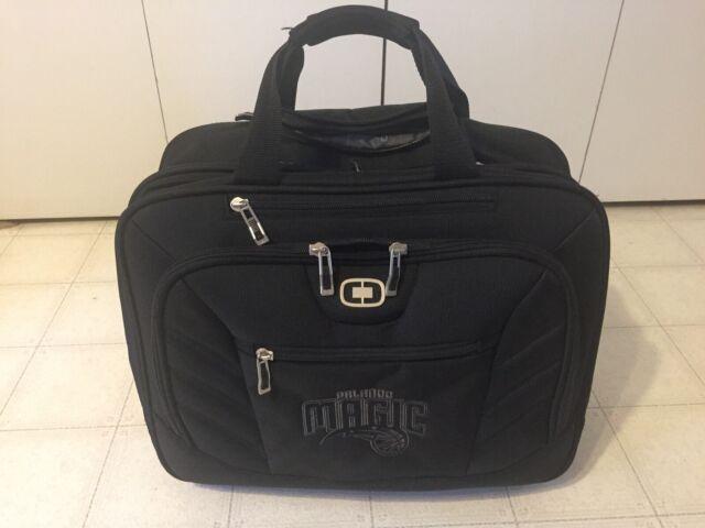 Ogio Rbc Orlando Magic Roller Rolling Travel Briefcase Computer Bag Pilot Case