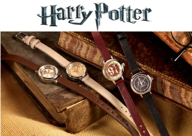 Official Harry Potter Watch - H P Logo, Platform 9/34, Dobby, Deathly Hallow