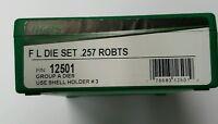 RCBS FL 2 Die Set for 257 Roberts, #12501, NIB, Group A FLDS