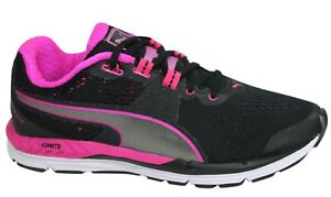 Pink 600 07 Textile Trainers Puma nero Ignite Speed Lace 188789 Up donna M8 YwwqP5Hx