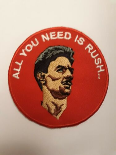 Ian Rush LFC Liverpool FC 3 Inch Iron Or Sew On Patch Badge