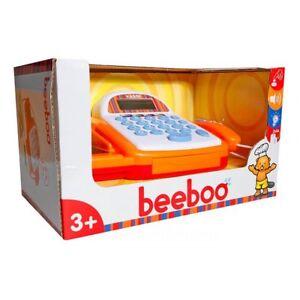 Kasse für Kinder Kinderkasse Spielkasse Zubehör mit Laufband & Scanner NEU / OVP