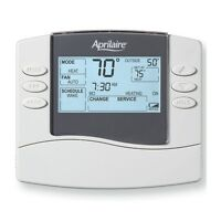Genuine Aprilaire Model 8463 Digital Programmable Thermostat - Brand
