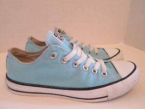 731c6281292 Converse All Star Light Blue Low Top Tennis Shoes Men s Size 5 ...