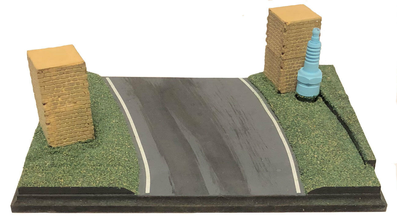 The Old Hairpin - 1 43 Scale Handcrafted Model Display Base