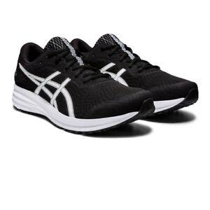 Asics Hommes Patriote 12 Chaussures De Course Baskets Sneakers Noir Respirant