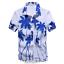 Mens-Hawaiian-T-Shirt-Summer-Floral-Printed-Beach-Short-Sleeve-Tops-Blouse-Hot thumbnail 9