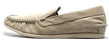 Steve Madden Men's Hoist Slip On Moc Slip On Loafer Natural Size 8.5