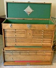Gerstner 5262 Journeymans Machinist Tool Makers Box Chest W Base Cabinet Riser