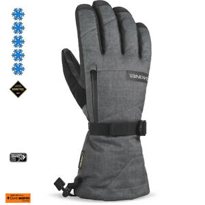 2020-Men-039-s-Dakine-Titan-Gore-Tex-5-Finger-Ski-Gloves-Size-9-5-XL-Carbon-01100350