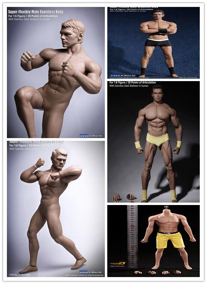 Tbleague körper modell m30-m34 superflexible nahtlose fit für 12  männliche figur.