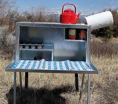 Large Camp Kitchen Food Box - Riley Stoves
