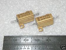 400 Ohm 3 5 Watt Ww Dale Heatsink Resistors 10 Pcs