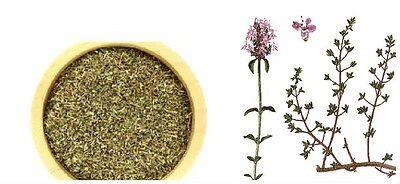 TIMO BIANCO Foglie Thymus vulgaris 50g Balsamico Antisettico Tosse Spezia Cucina