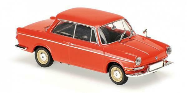 MINICHAMPS BMW 700 LS 1960 (red) 1 43 43 43 940023701 ce96db