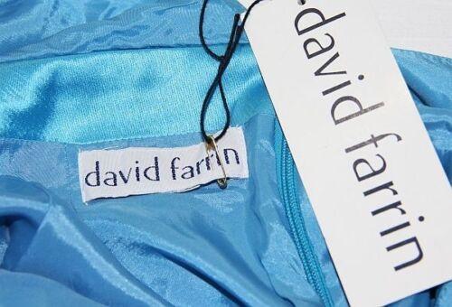 Edles Kleid Abendkleid David 845 Neu Farrin Designer 36 Trägerkleid Des 088 RAnwxA7