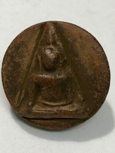 PHRA NANGPHAYA KONHOY LP RARE OLD THAI BUDDHA AMULET PENDANT MAGIC ANCIENT IDO#3