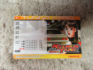 reina-akikawa-MAXIMUM-TUNE-PLAYERS-TUNING-CARD-WANGAN-MIDNIGHT-arcade-game-C58