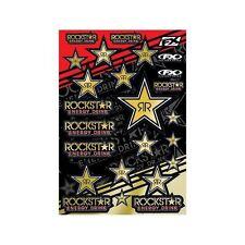 New Factory Effex Rockstar Energy Gold Sticker Kit Universal Stickers Motocross