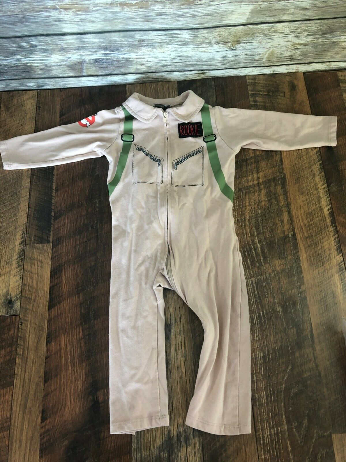 Officially Licensed Spirit Halloween Baby Ghostbusters One Piece Costume