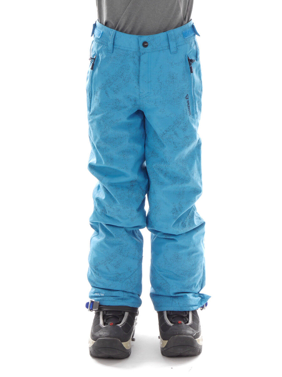 Brunotti Skihose Snowboardhose Winterhose blau Kitebar JR Regular Fit