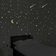 435x Glow In The Dark Luminous Stars And Moon Planet Space Wall Stickers  ✌ z