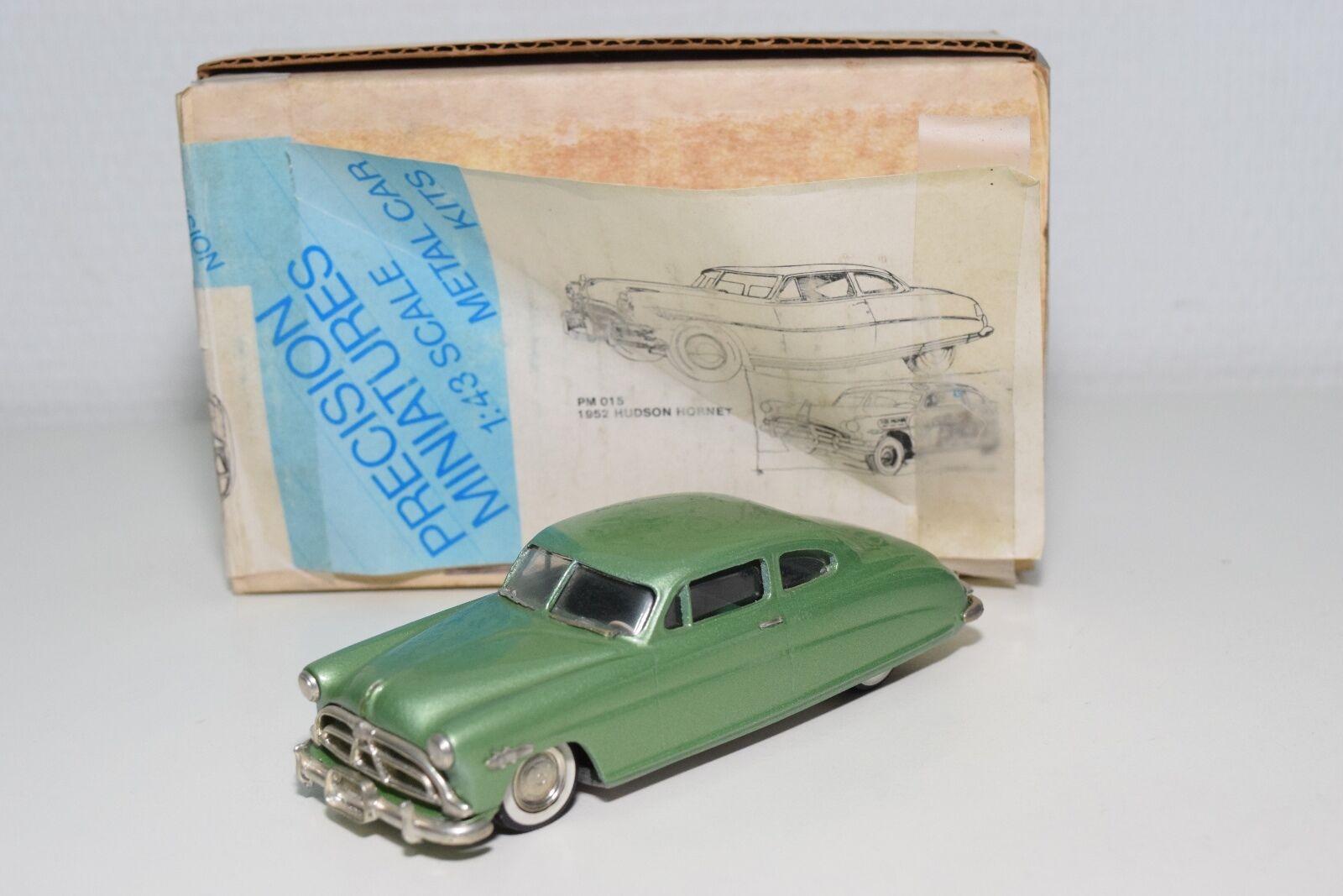 Precision Miniatures USA model Hudson Hornet 1952 MET. Green Mint Boxed Rare