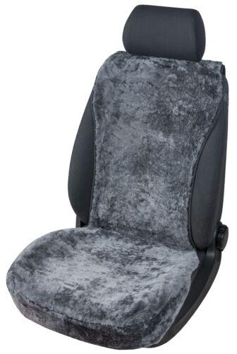 Sitzaufleger Lammfell Vogue anthrazit 16-18mm Fellhöhe Sitzauflage Sitzbezug