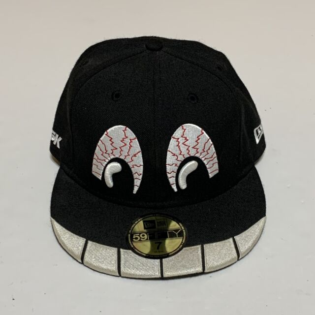 DGK TAE Kayo New Era Black Fitted Hat Size 7 Eyes Dirty Ghetto Kids Used Skate