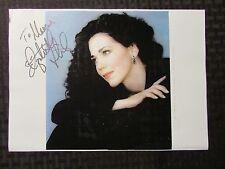 2005 ELIZABETH FUTRAL Signed Autograph 11x7.75 Print Out w/ COA Opera FN+ 6.5