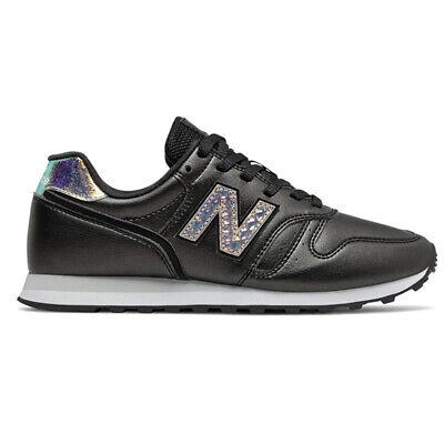 New Balance WL373 GB2 Retro Lifestyle Chaussures Femmes Noir/Blanc | eBay